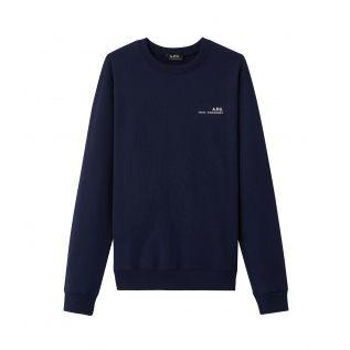 아페쎄 맨투맨 A.P.C. Item sweatshirt,DARK NAVY BLUE