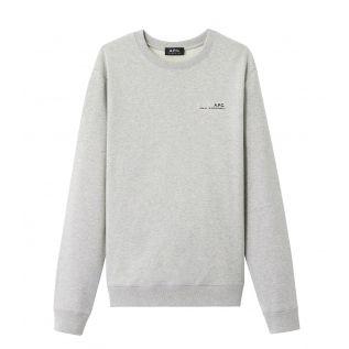 아페쎄 맨투맨 A.P.C. Item sweatshirt,PALE HEATHER GREY