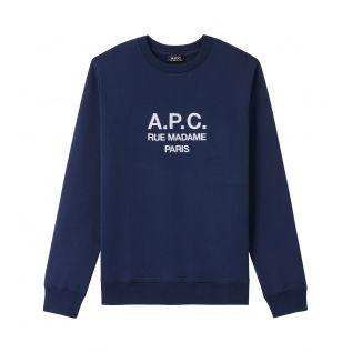 아페쎄 맨투맨 A.P.C. Rufus sweatshirt,NAVY BLUE