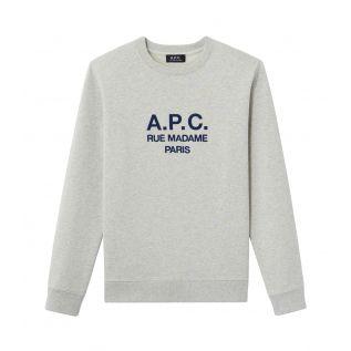 아페쎄 맨투맨 A.P.C. Rufus sweatshirt,HEATHER ECRU