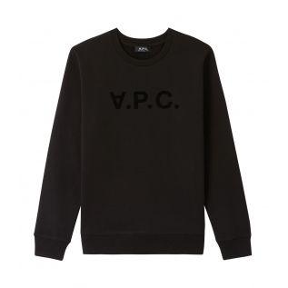 아페쎄 맨투맨 A.P.C. VPC sweatshirt,BLACK