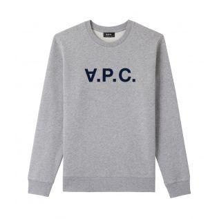 아페쎄 맨투맨 A.P.C. VPC sweatshirt,HEATHER GREY