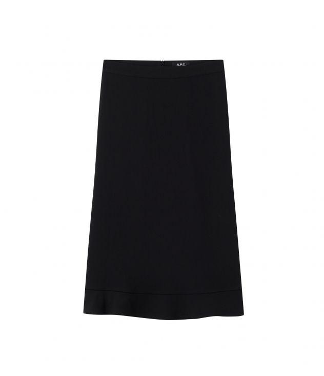 아페쎄 A.P.C. Adena skirt,BLACK