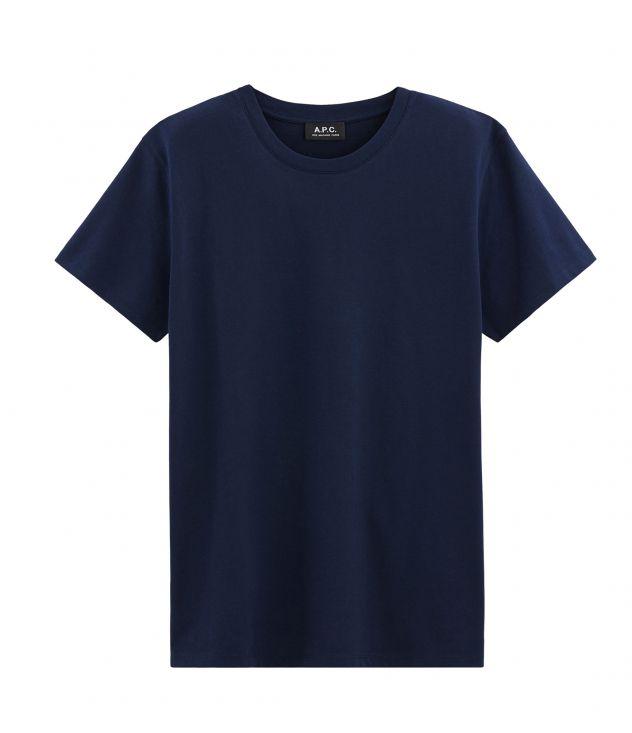 아페쎄 옴므 티셔츠 A.P.C. Jimmy T-shirt,DARK NAVY BLUE
