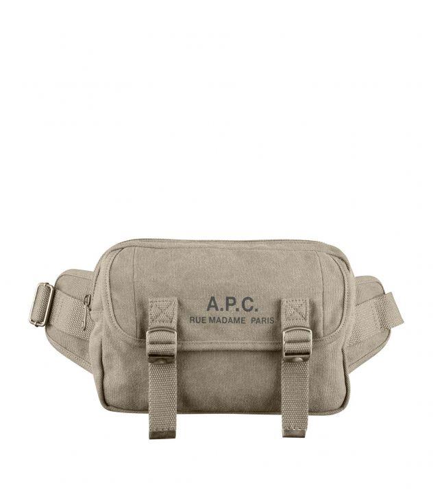 아페쎄 범백 A.P.C. Recuperation bum bag,KHAKI