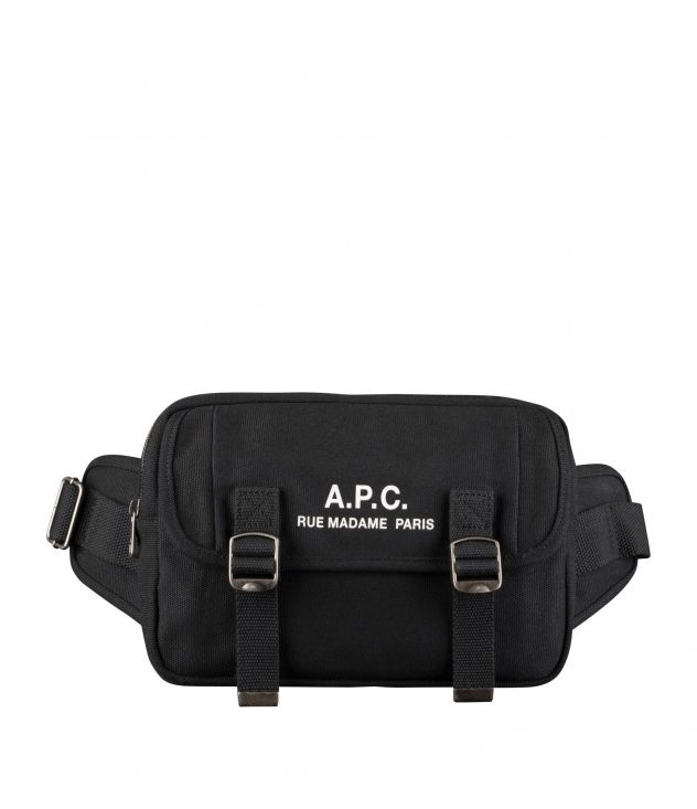 아페쎄 범백 A.P.C. Recuperation bum bag,BLACK