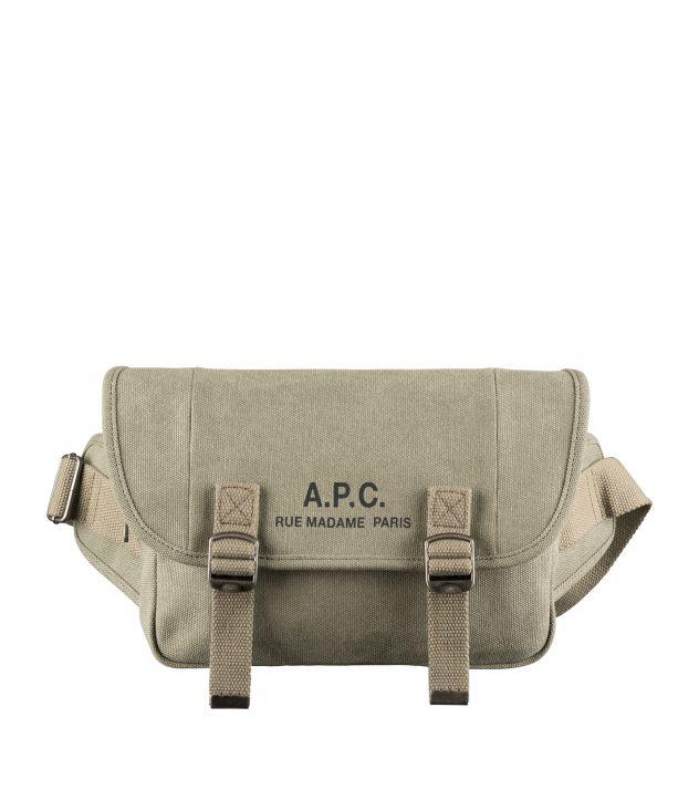 아페쎄 힙백 A.P.C. Recuperation hip bag,KHAKI