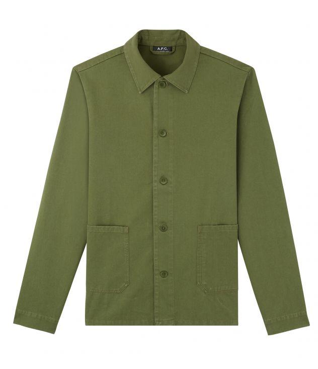 아페쎄 옴므 자켓 A.P.C. Kerlouan jacket,DARK GREEN