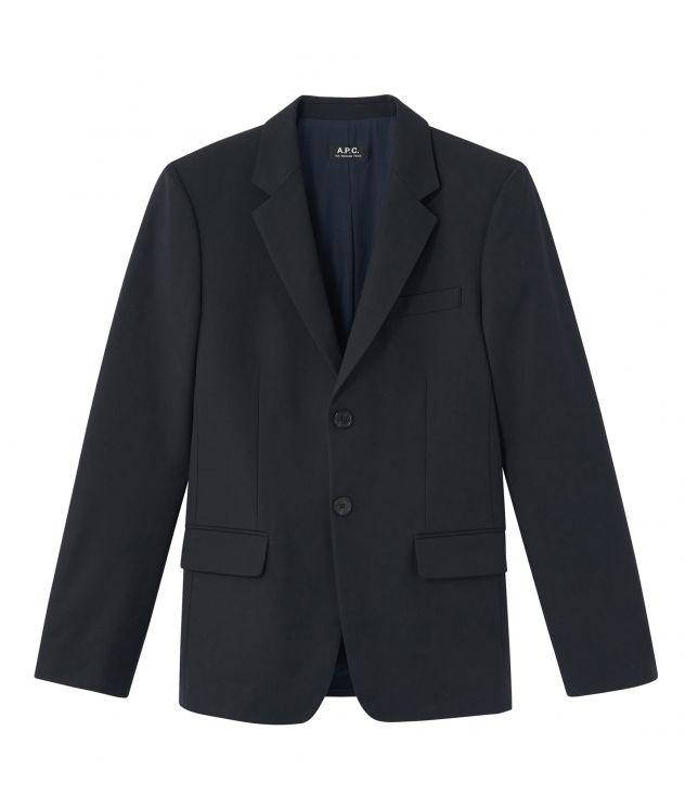 아페쎄 옴므 자켓 A.P.C. Harry jacket,DARK NAVY BLUE