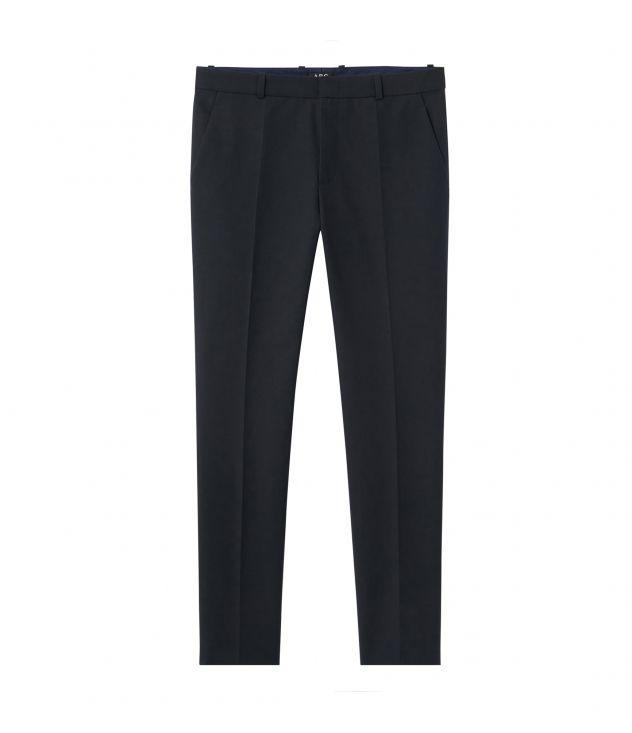 아페쎄 옴므 팬츠 A.P.C. Formal trousers,DARK NAVY BLUE