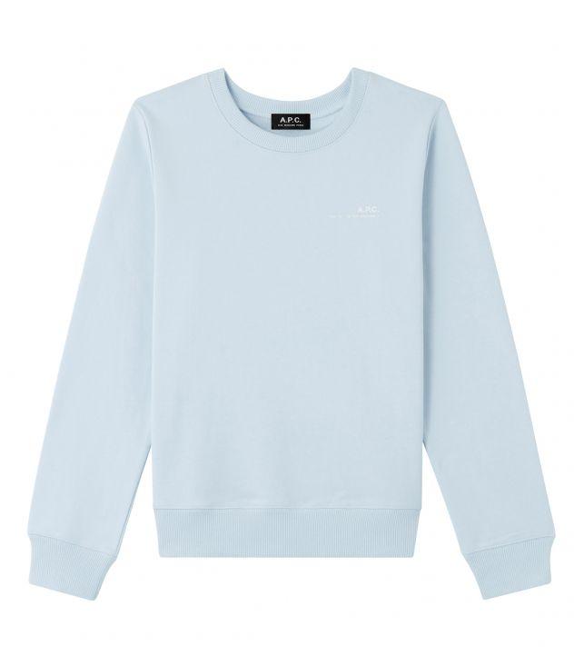 아페쎄 스웻셔츠 A.P.C. Item sweatshirt,PALE BLUE