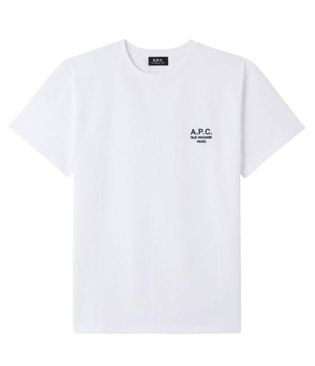 아페쎄 옴므 티셔츠 A.P.C. Raymond T-shirt,WHITE