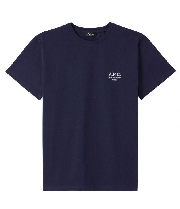 아페쎄 옴므 티셔츠 A.P.C. Raymond T-shirt,DARK NAVY BLUE