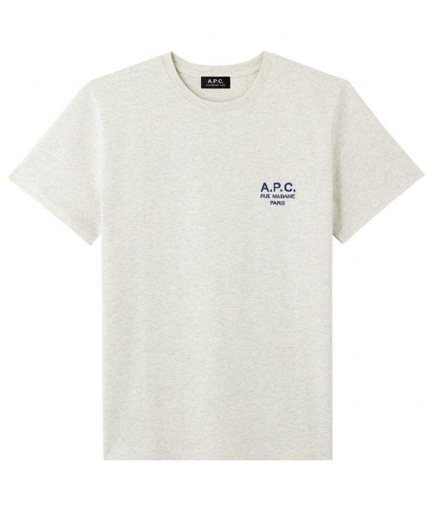 아페쎄 옴므 티셔츠 A.P.C. Raymond T-shirt,HEATHER ECRU