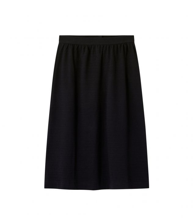 아페쎄 A.P.C. Lydie skirt,BLACK