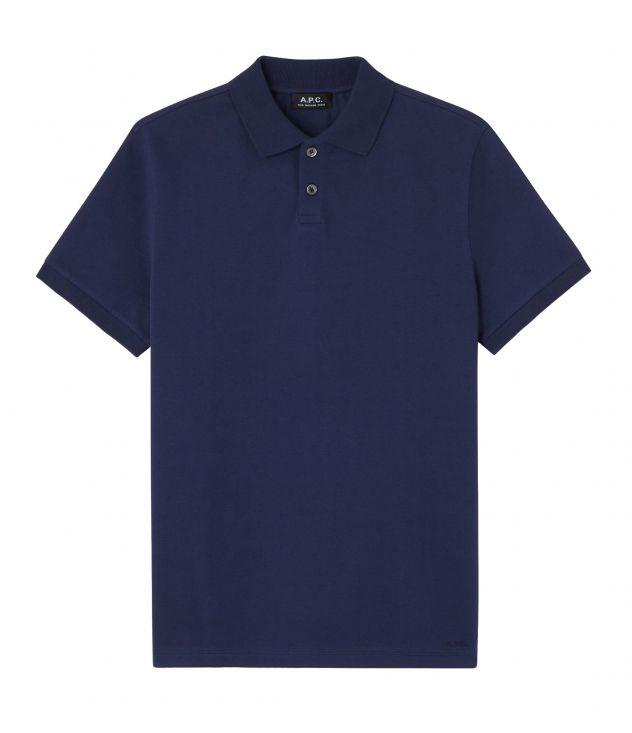 아페쎄 옴므 폴로 셔츠 A.P.C. Esteban polo shirt,DARK NAVY BLUE