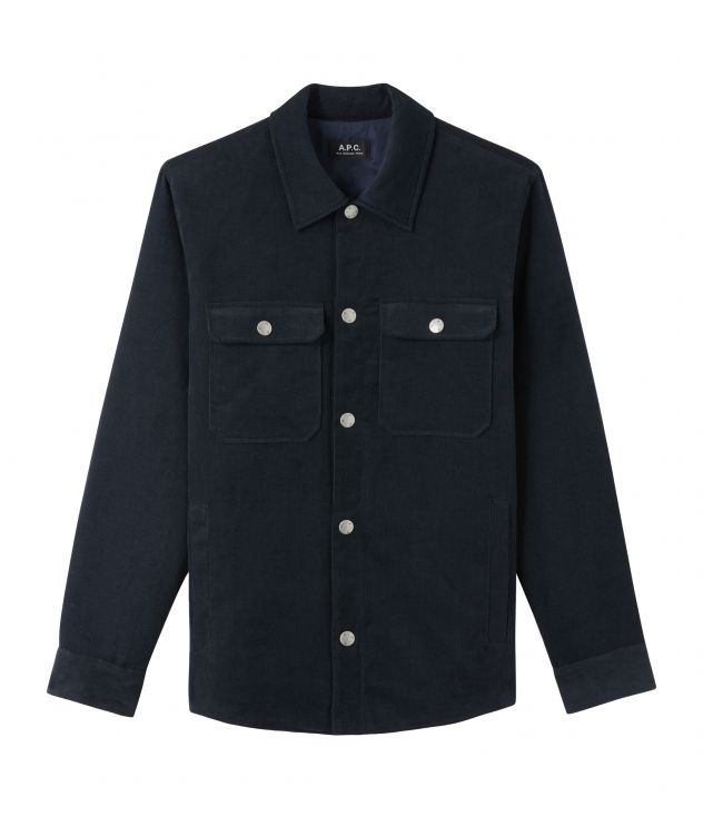 아페쎄 옴므 자켓 A.P.C. Alex jacket,DARK NAVY BLUE