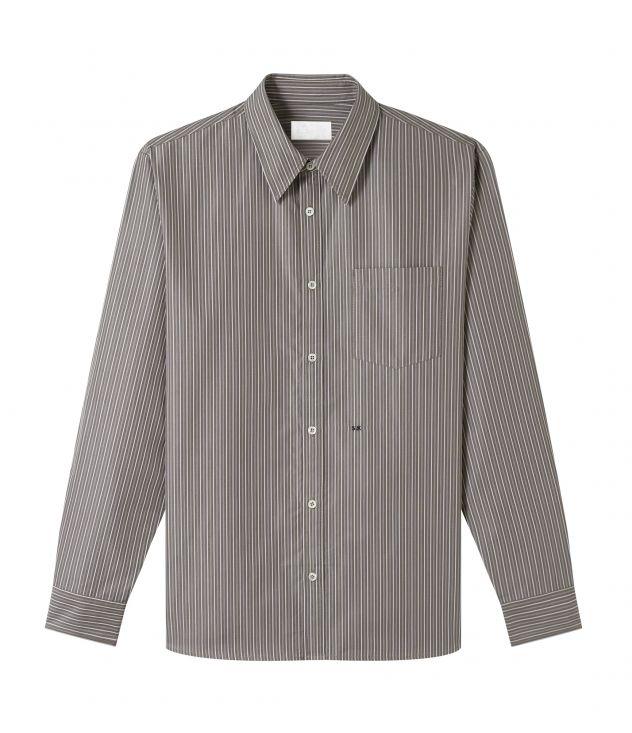아페쎄 옴므 셔츠 A.P.C. Aland shirt,TAUPE