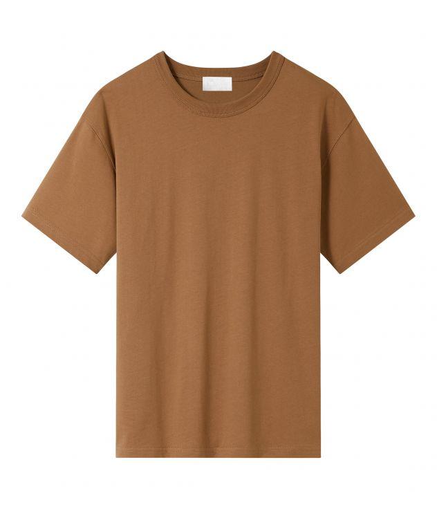 아페쎄 옴므 티셔츠 A.P.C. Owen T-shirt,TOBACCO