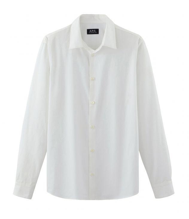 아페쎄 옴므 셔츠 A.P.C. Staid shirt,WHITE
