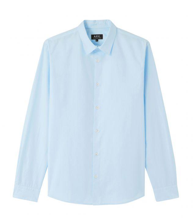 아페쎄 옴므 셔츠 A.P.C. Staid shirt,PALE BLUE