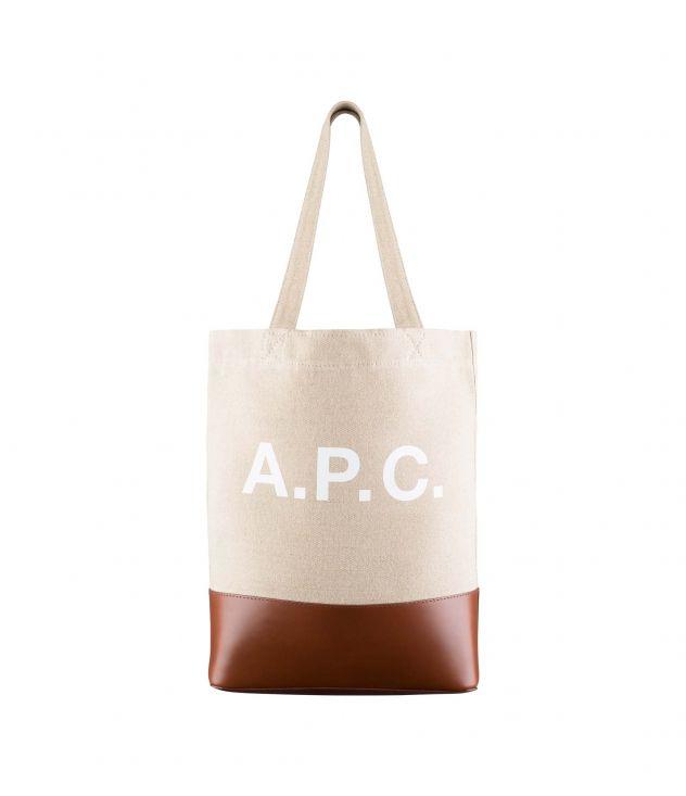 아페쎄 토트백 A.P.C. Axelle tote bag,NUT BROWN