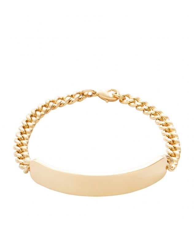 아페쎄 옴므 팔찌 A.P.C. Darwin chain bracelet,GOLDTONE