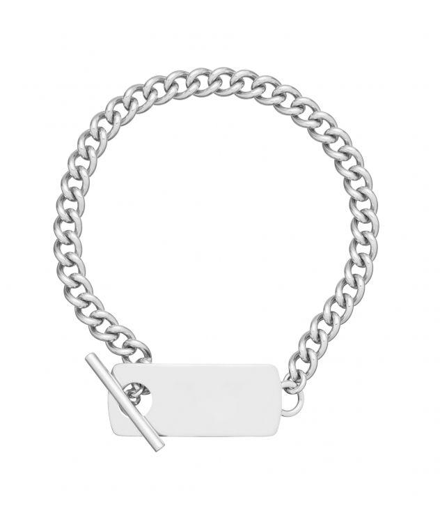아페쎄 옴므 팔찌 A.P.C. Louison bracelet,SILVERTONE