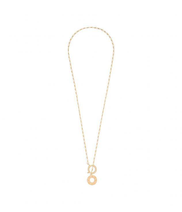 아페쎄 옴므 목걸이 A.P.C. Ambre necklace,GOLDTONE