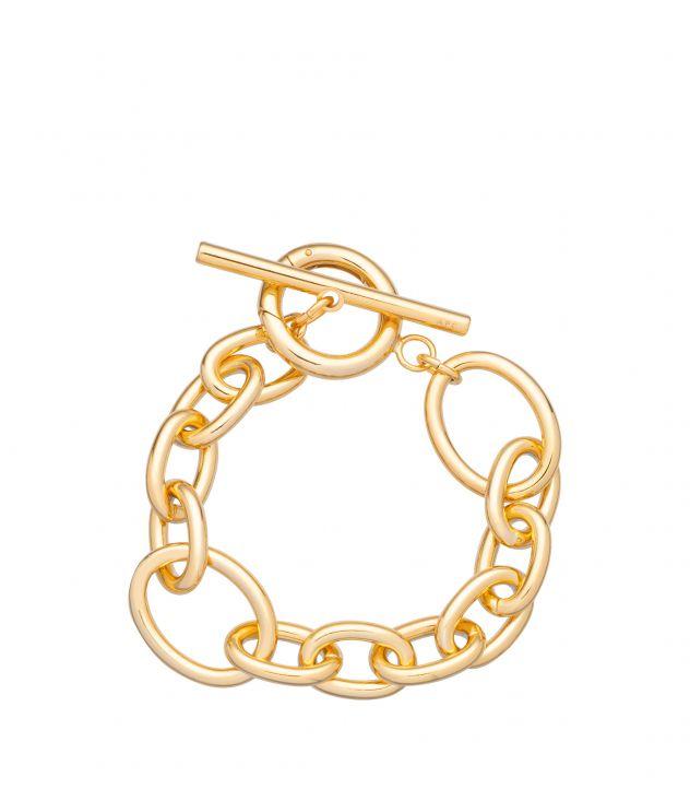아페쎄 팔찌 A.P.C. Bridget bracelet,GOLDTONE