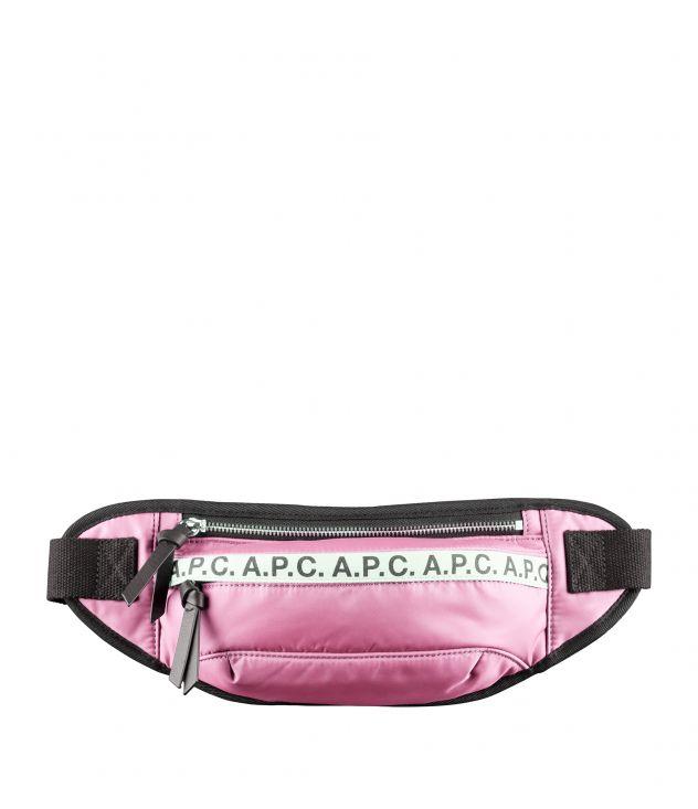 아페쎄 리피트 힙백 A.P.C. Repeat hip bag,PINK