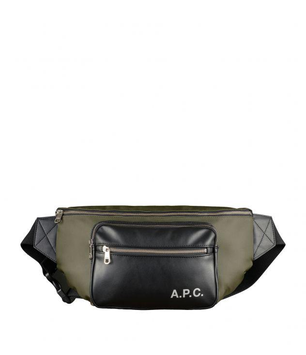 아페쎄 캠든 범백 A.P.C. Camden bum bag,Military khaki