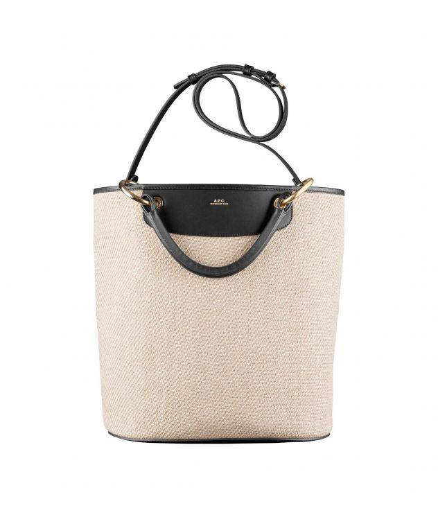 아페쎄 릴라 쇼핑백 - 블랙  A.P.C. Lila shopping bag,BLACK