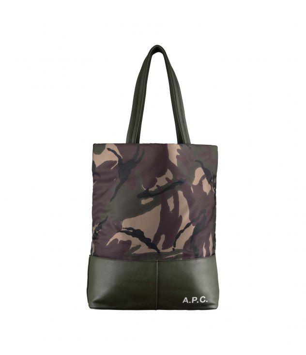 아페쎄 캠든 쇼핑백 A.P.C. Camden shopping bag,MILITARY KHAKI