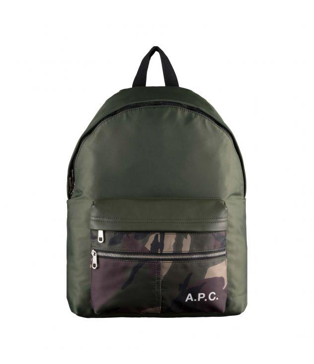아페쎄 백팩 A.P.C. Camden backpack,MILITARY KHAKI