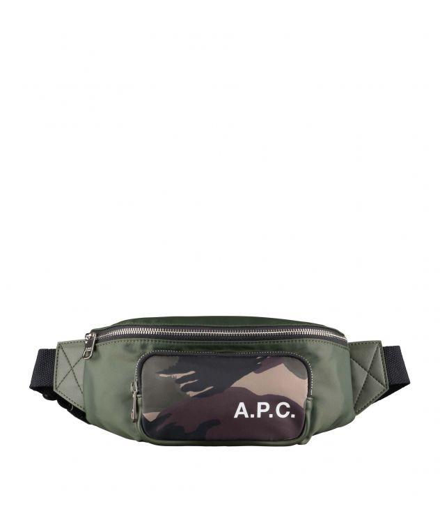 아페쎄 범백 A.P.C. Camden bum bag,MILITARY KHAKI