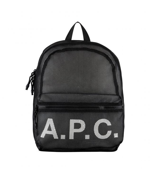 아페쎄 백팩 A.P.C. Rebound backpack,BLACK