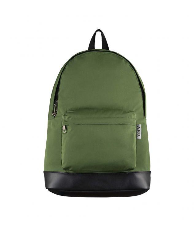 아페쎄 백팩 A.P.C. Ultralight backpack,GREEN
