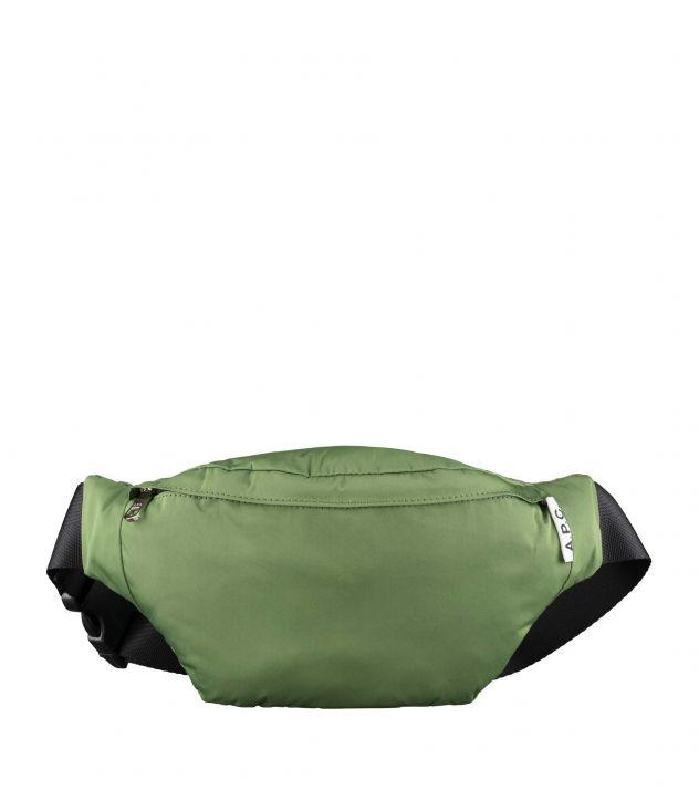 아페쎄 경량 범백 A.P.C. Ultralight bum bag,GREEN