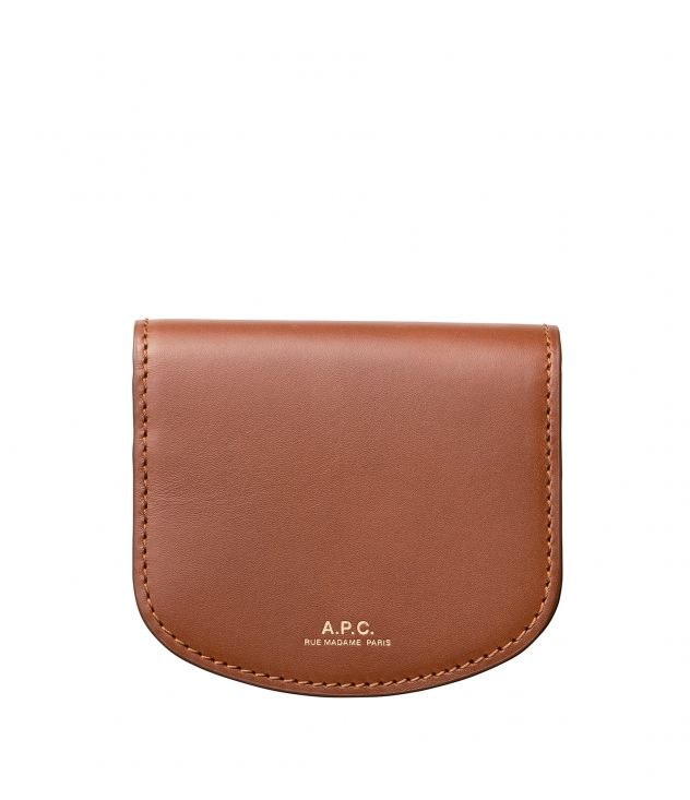 아페쎄 A.P.C. Dina coin purse,NUT BROWN