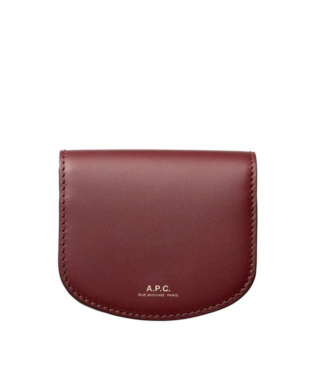아페쎄 A.P.C. Dina coin purse,Vino