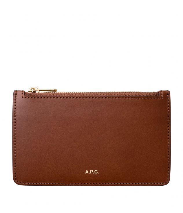 아페쎄 A.P.C. Willow cardholder,NUT BROWN