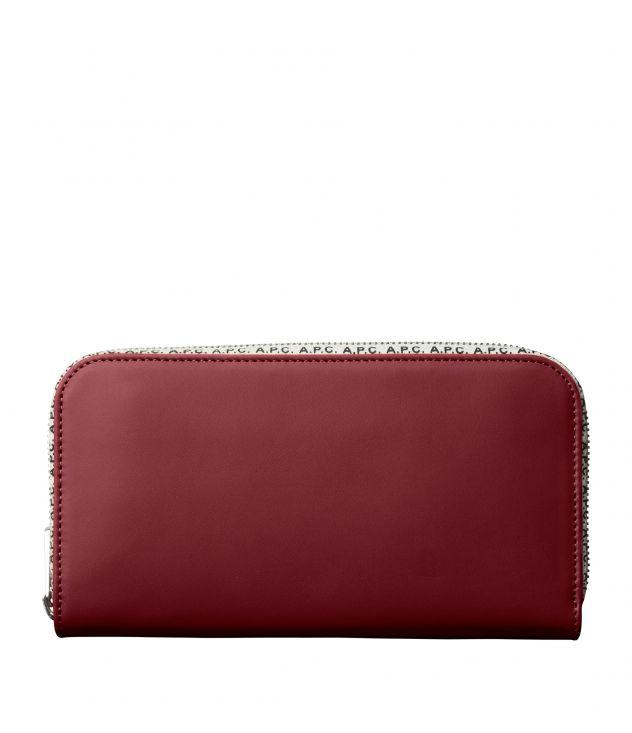 아페쎄 A.P.C. Lucienne wallet,WINE