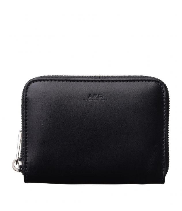 아페쎄 반지갑 A.P.C. Dallas wallet,BLACK