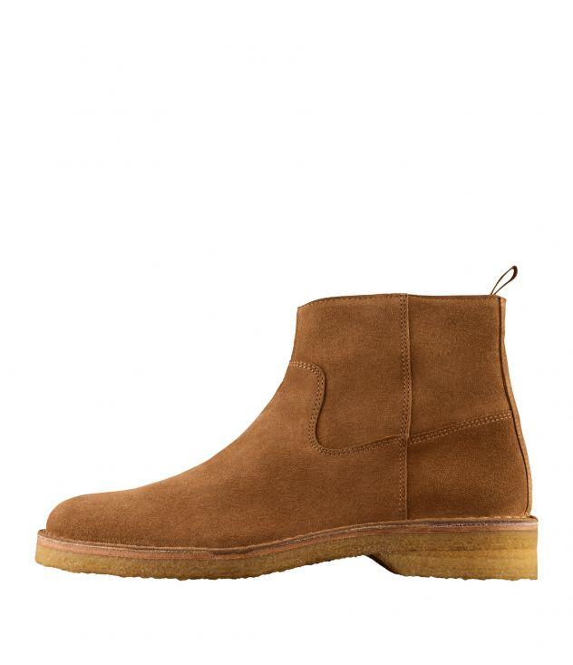 아페쎄 부츠 A.P.C. Timothe ankle boots,FROSTED CHESTNUT BROWN