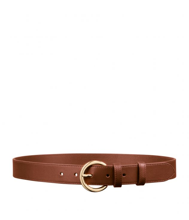아페쎄 A.P.C. Hinna belt,Nut brown