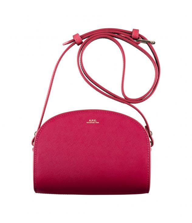 아페쎄 하프문백 미니 A.P.C. Demi-Lune Mini bag,CHERRY