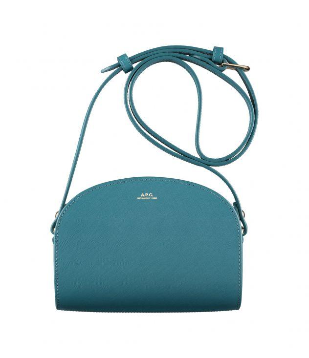 아페쎄 하프문백 미니 A.P.C. Demi-Lune Mini bag,PEACOCK BLUE