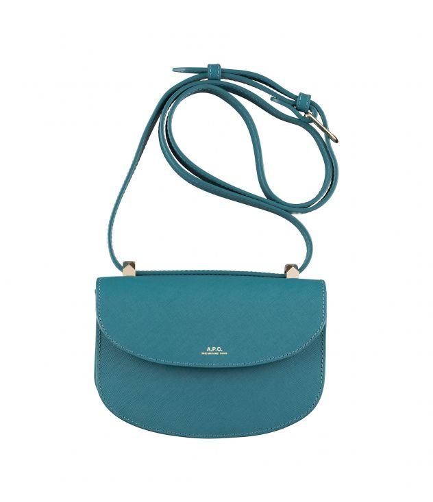 아페쎄 제네바백 미니 A.P.C. Geneve Mini bag,PEACOCK BLUE