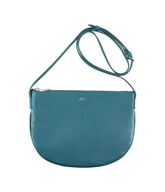 아페쎄 마엘리스백 A.P.C. Maelys bag,PEACOCK BLUE